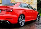 Testujemy Audi RS3 Limousine. Wyjątkowy prezent urodzinowy