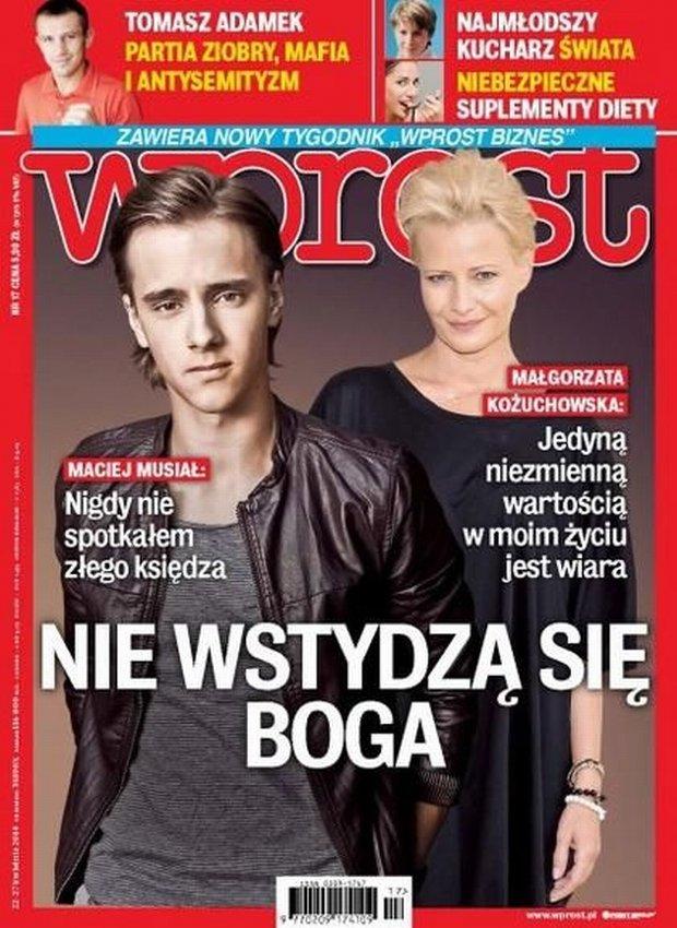 Katarzyna Kożuchowska i Maciej Musiał