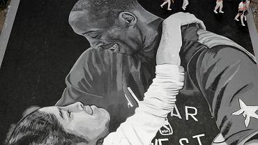 Mural w hołdzie tragicznie zmarłego Kobego Bryanta na boisku do koszykówki w Manili, stolicy Filipin. Podobny może powstać w Warszawie