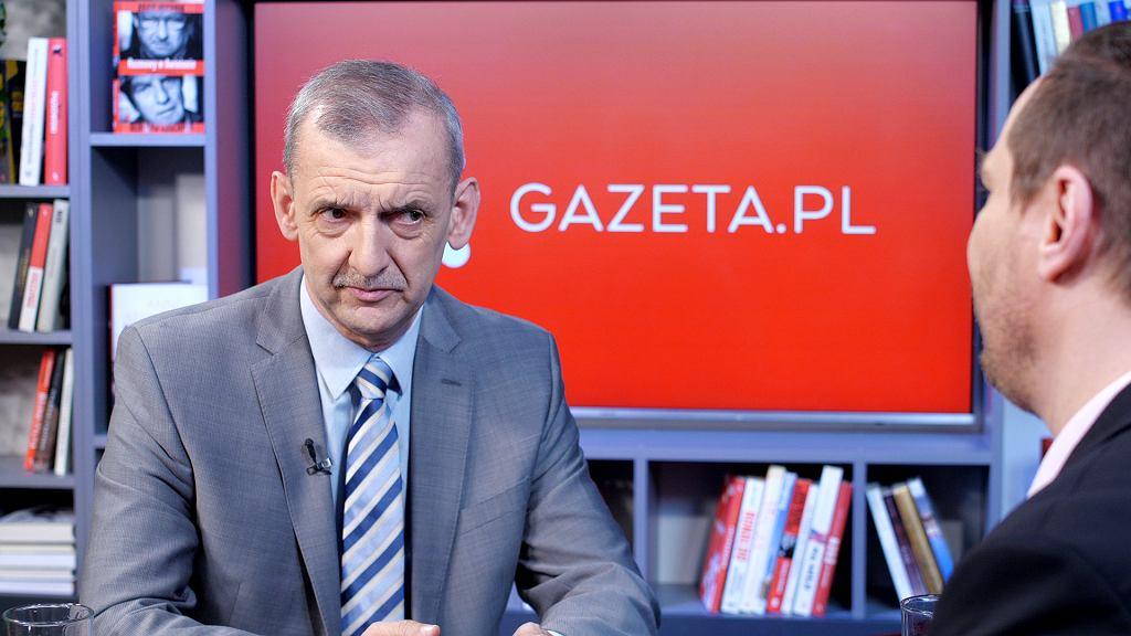 Sławomir Broniarz gościem Gazeta.pl