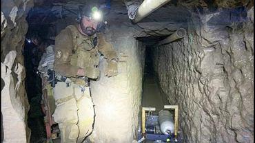 Na granicy Meksyku i USA odkryto najdłuższy tunel do przemytu narkotyków.