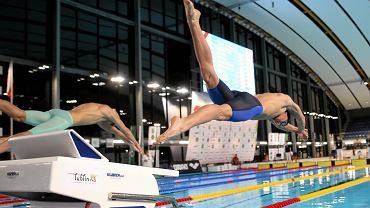 Aqua Lublin. Zimowe Mistrzostwa Polski w Pływaniu. Sebastian Szczepański