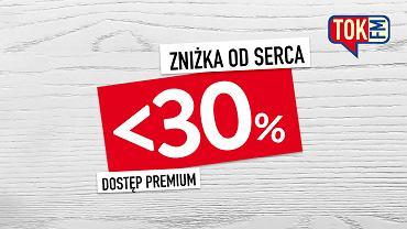 Zniżka od serca w TOK FM. Dostęp Premium z okazji Walentynek i Dnia Radia 30% taniej!