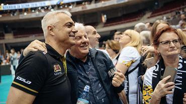 Trener Andrea Anastasi żegna się z kibicami Trefla