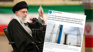 Iran odlicza przed startem satelity.