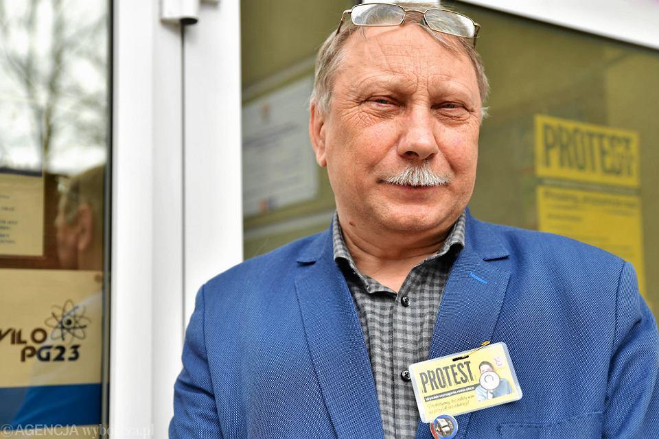 Zbigniew Wieczorek, nauczyciel języka polskiego w VI LO im. Jana Kochanowskiego w Radomiu, jednym z najlepszych liceów w Polsce.
