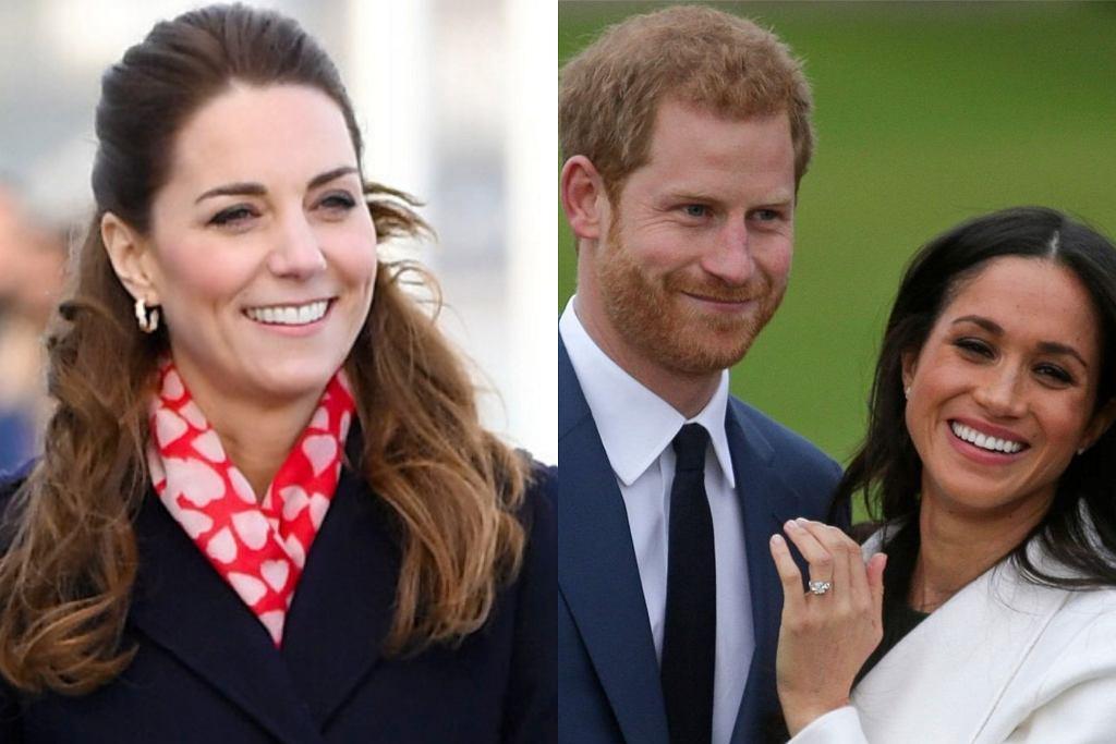 Księżna Kate, Meghan Markle, książę Harry