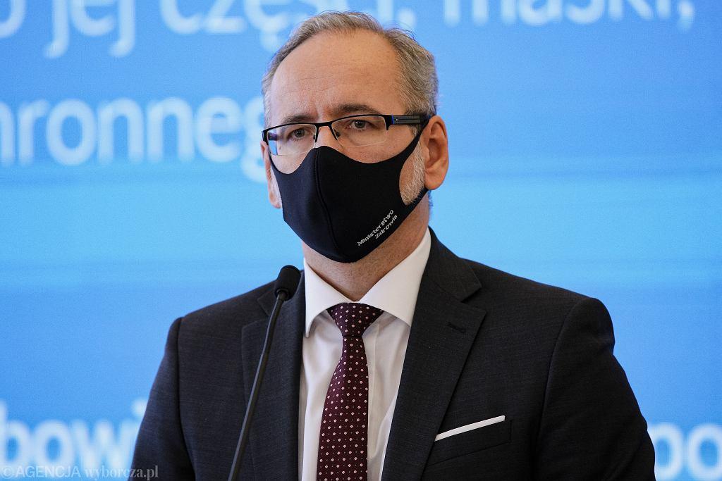 Konferencja ministra zdrowia. Trzeba liczyć się z pewnymi zmianami