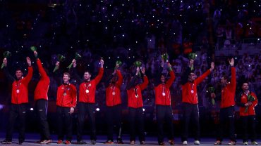 Polacy z medalami