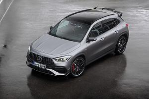 Mercedes-AMG GLA 45 oficjalnie. Wersja S wyraźnie przekracza 400 KM mocy
