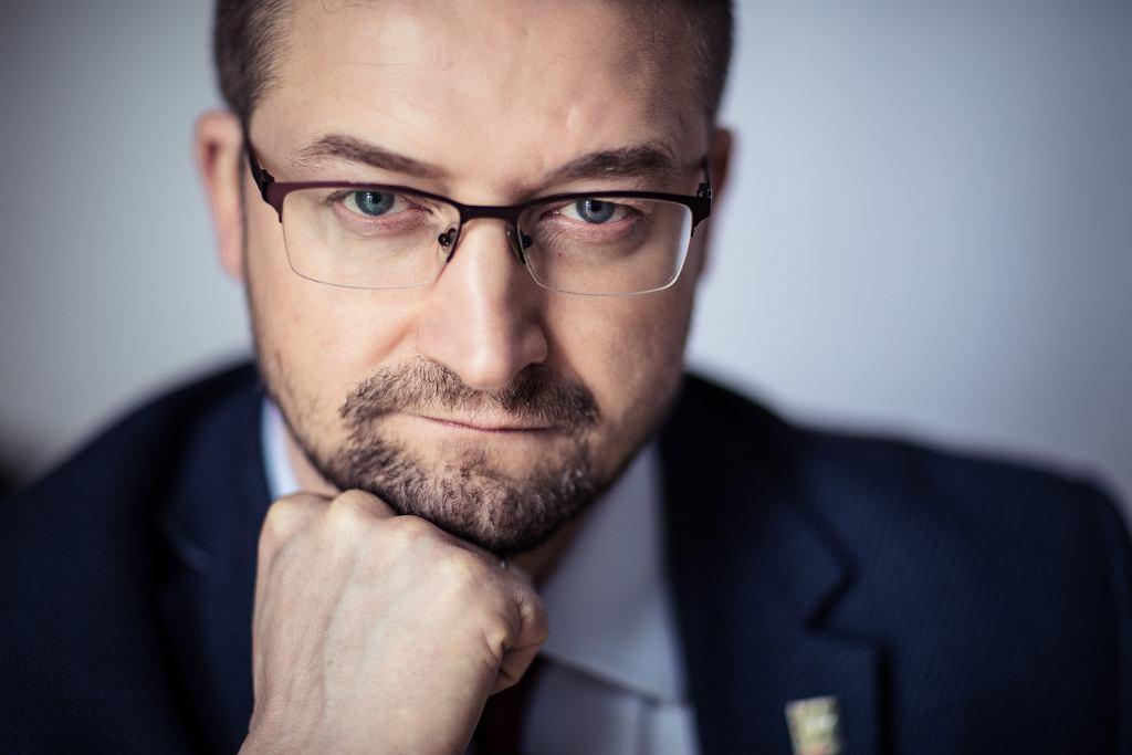 Sędzia Paweł Juszczyszyn.