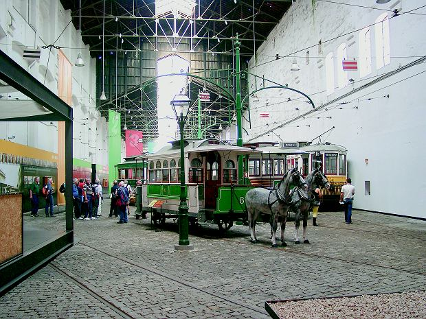 Muzeum tramwajów w Porto