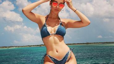 Jeansowe kostiumy kąpielowe inspirowane Bellą Hadid