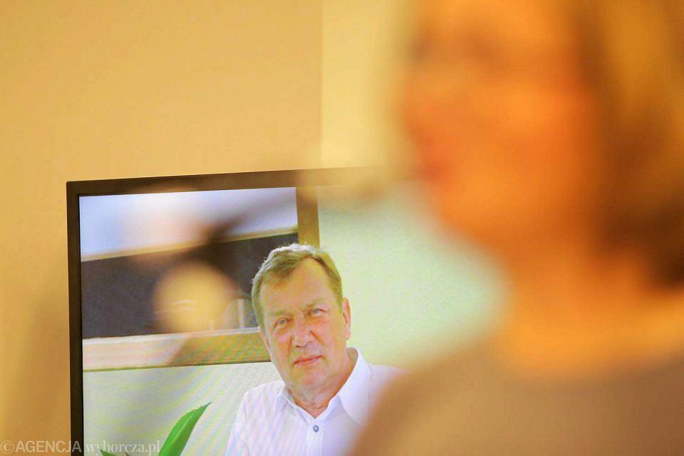 W tle - patron Nagrody - dr Krzysztof Kanigowski