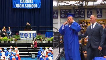 Kiedy Jack Higgins odbierał dyplom, nikt nie klaskał