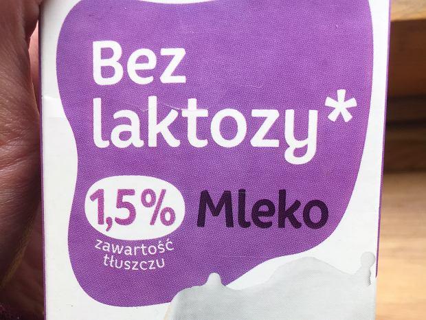 Na początku zrezygnowałam z mleka krowiego tłustego, na mleko bez laktozy