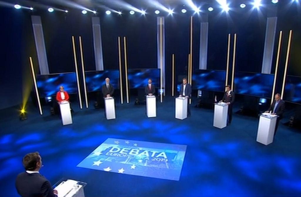 Debata przed wyborami do Parlamentu Europejskiego 2019
