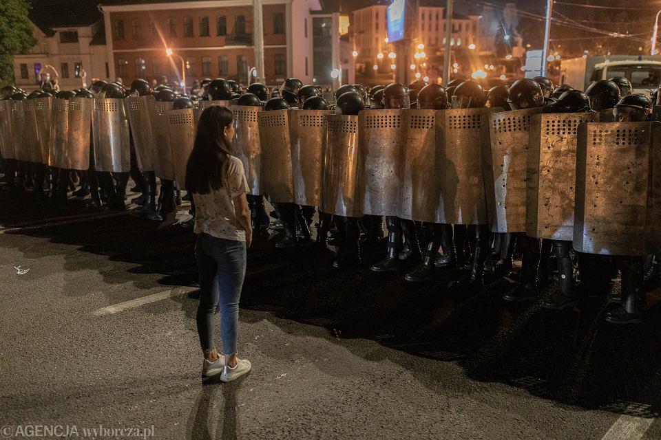 Protesty na Białorusi (sierpień 2020 rok). Mińsk