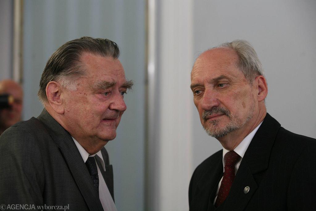 Jan Olszewski i Antoni Macierewicz