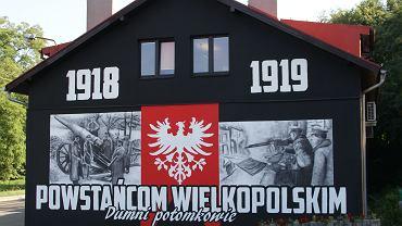 Mural o powstaniu wielkopolskim w Czerwonaku