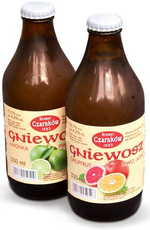 Testowane Matuszewskim: Wódka i spółka, testowane matuszewskim, kuchnia, Gniewosz  piwo aromatyzowane
