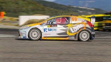 Ford Fiesta RXLites, którym będzie startował Martin Kaczmarski