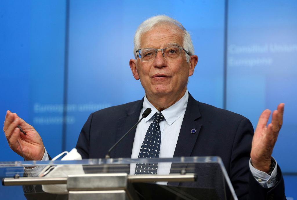 Josep Borrell, szef unijnej dyplomacji