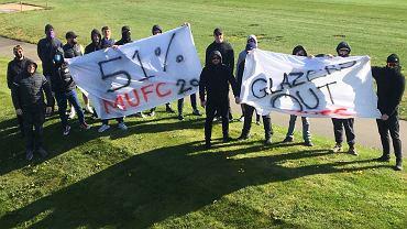 Kibice Manchesteru United protestowali przeciwko władzom klubu