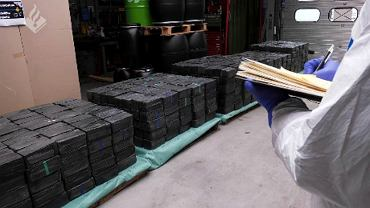Holandia. Policja znalazła rekordową ilość narkotyków na przemyt