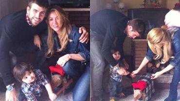 Milan, Shakira i Gerard Pique