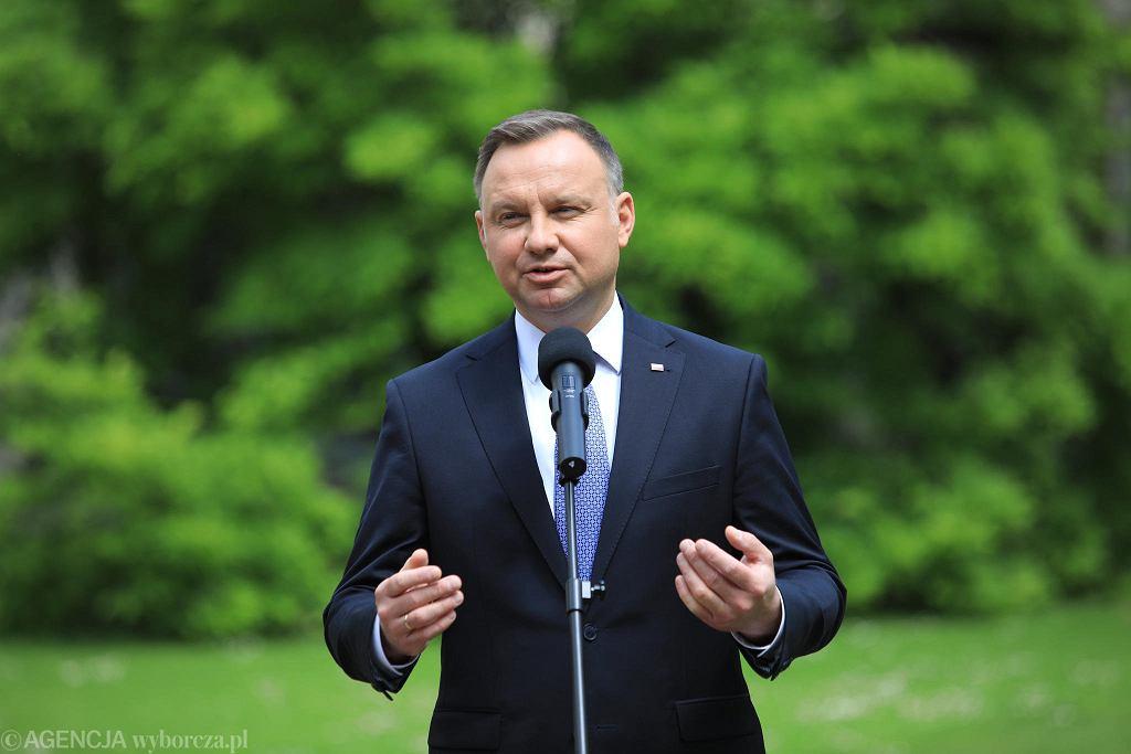 Wybory prezydenckie 2020. Andrzej Duda podczas wizyty w Lublinie