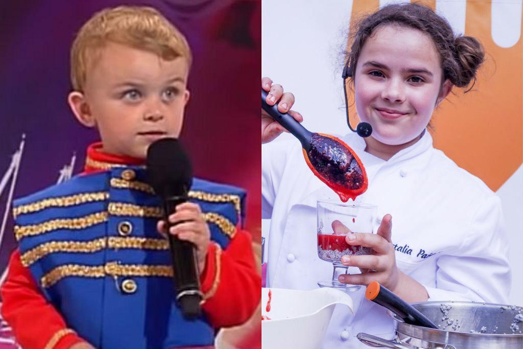 Rafał z 'Mam talent', Natalia z 'MasterChefa Junior'