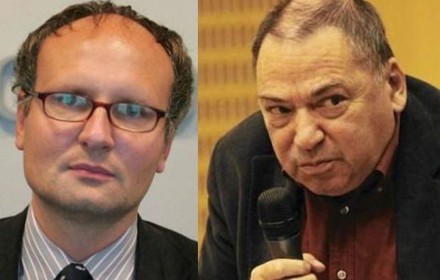 Paweł Lisicki i Seweryn Blumsztajn