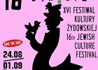 XVI Festiwal Kultury Żydowskiej Warszawa Singera. Żydowski. Warszawski. Międzynarodowy.