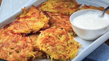 Placki ziemniaczane pieczone w piekarniku