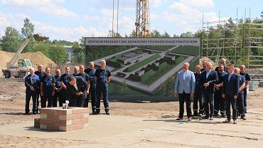 Zainaugurowanie budowy centrum rakietowego w Zielonce