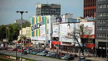 Wielkoformatowe reklamy w centrum Łodzi