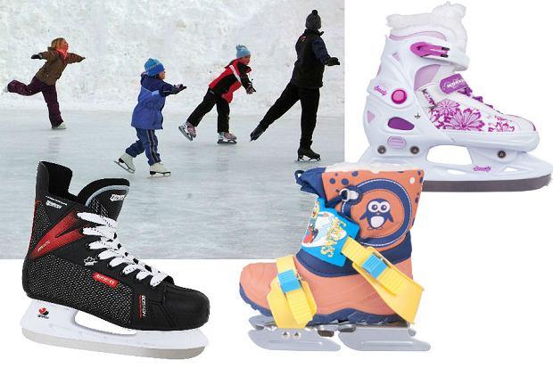 Zabawa na lodowisku