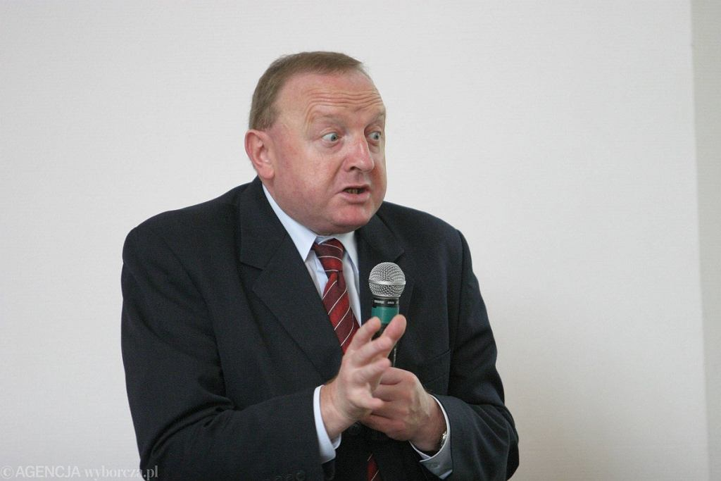 Stanisław Michalkiewicz, zdj. z 2005 roku