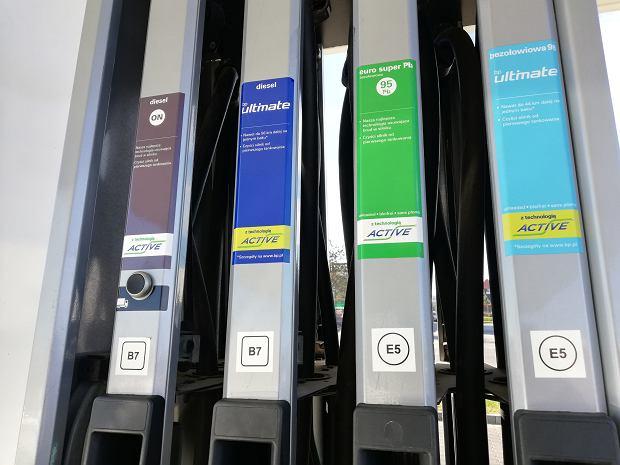 12.10.2018 Oznaczenia paliw na stacji BP