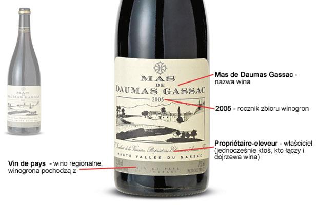 Poradnik: wszystko o etykietach win, alkohol, wino, białe wino, czerwone wino, Etykieta francuska 2