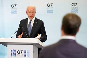 Biden na szczycie G7 nie stworzył frontu przeciw Chinom. Europa łamie solidarność