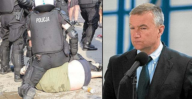 Zamieszki w Warszawie przed meczem Polska-Rosja, Paweł Graś