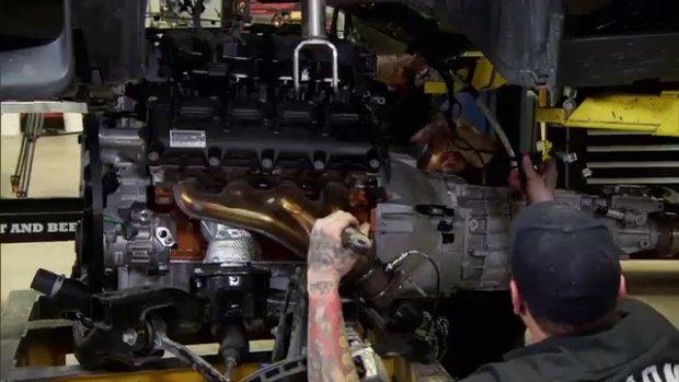 Silnik 6.4 L HEMI