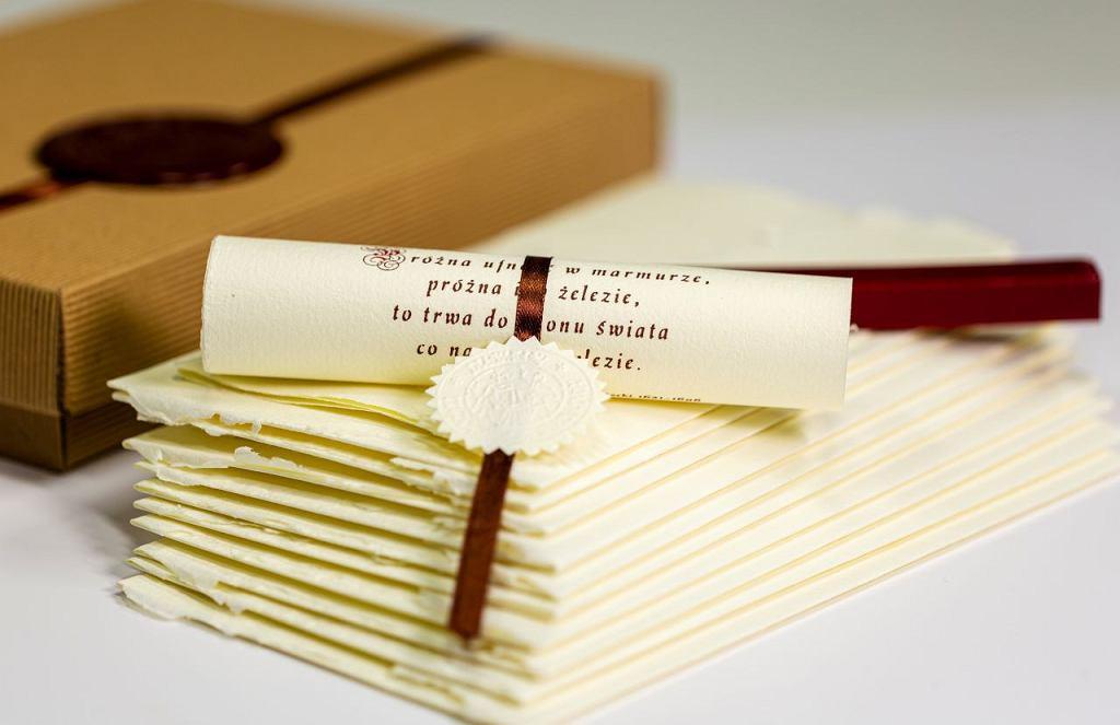 Muzeum Papiernictwa w Dusznikach-Zdroju: papier ręcznie czerpany