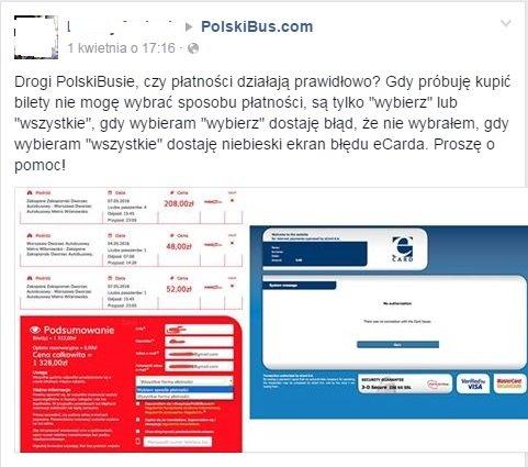 Facebook/Polski Bus