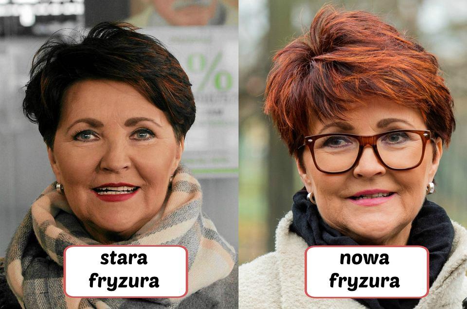 Jolanta Kwaśniewska Ma Nową Fryzurę żegnaj Brązie Witaj