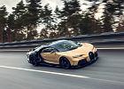 Bugatti Chiron Super Sport z dodatkowymi 100 czujnikami. Siódmy bieg wrzuca, gdy osiągnie 400 km/h