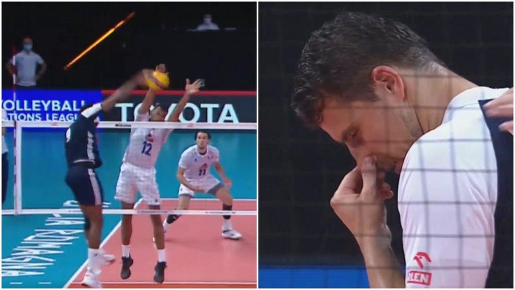 Liga Narodów: Francja - Polska, siatkówka