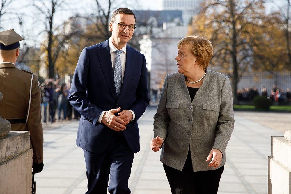 Polsko-niemieckie konsultacje międzyrządowe. Mateusz Morawiecki rozmawiał z Angelą Merkel